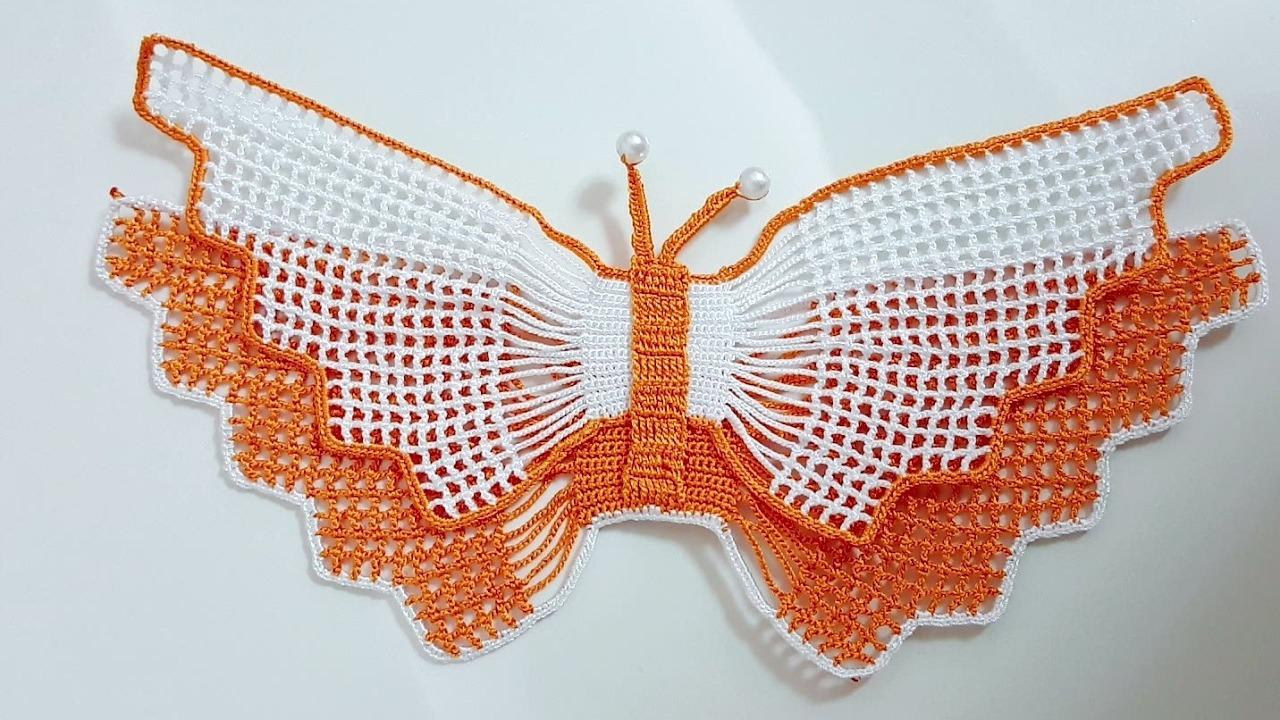 Havlu Kenarı Kelebek Modeli Yapılışı | Kolay Örgüler