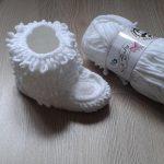 Yapılışı Kolay Püsküllü Bebek Bot Patiği Anlatımlı