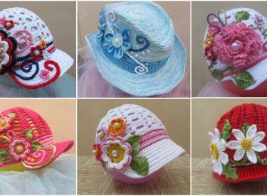 Amigurumi Bebek Şapkası Yapılışı