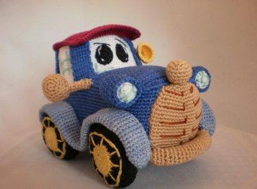 Amigurumi Araba Yapımı