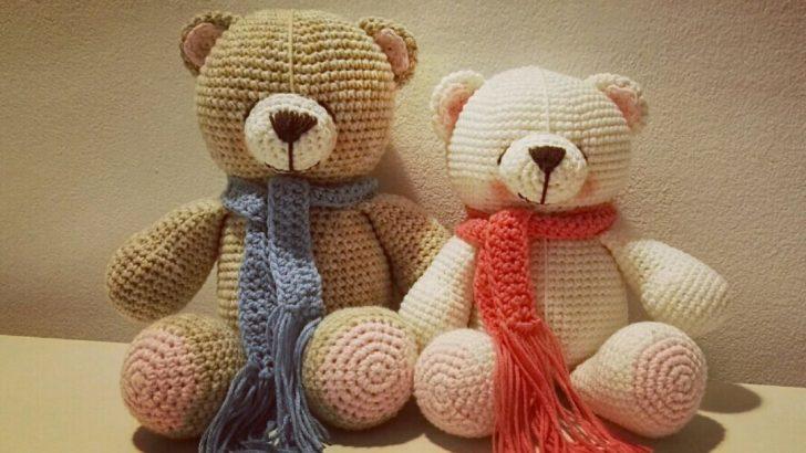 Amigurumi Örgü Çıngırak Ayı Yapımı 1 (Halka) Amigurumi Knitting ... | 410x728