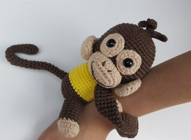 Amigurumi Örgü Maymun