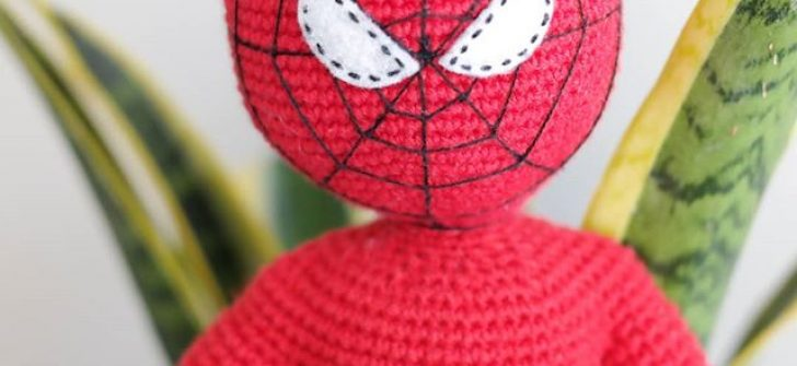 Amigurumi Örgü Örümcek Adam Yapımı