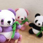 panda yapımı amigurumi