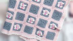 Gelin Buketi Bebek Battaniye Modeli