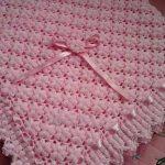 Motifli bebek battaniye modelleri