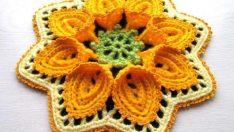 Süslü Bahar Çiçeği Lif Modelleri