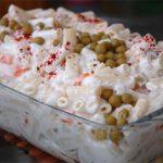 Yoğurtlu Boncuk Makarna Salatası Tarifi