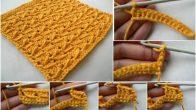 Çapraz Çiçekli Yollar Bebek Battaniyesi Modeli