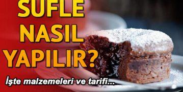 Evde Sufle Nasıl Yapılır – Çikolatalı Sufle Tarifi