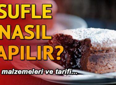 Nutella Çikolatalı Sufle Tarifi Yapılışı