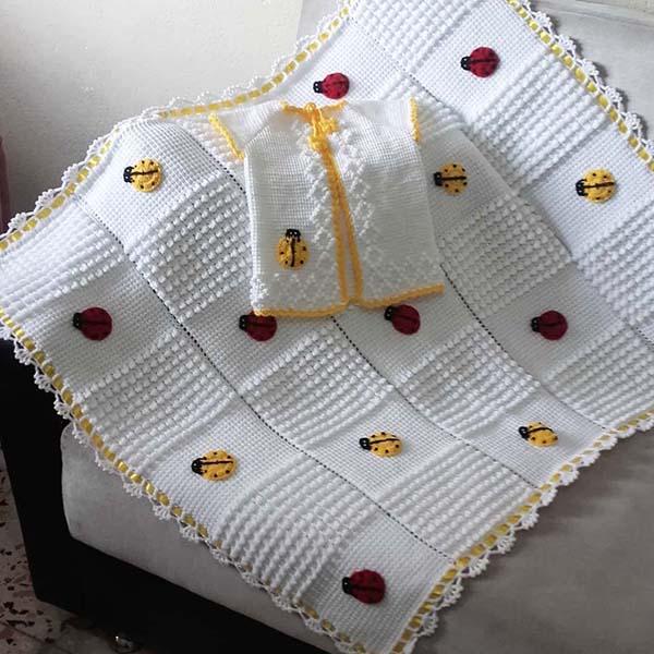 2019 bebek battaniye modelleri