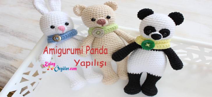 Amigurumi Panda Yapılışı