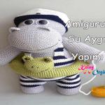 Amigurumi Su Aygırı Yapımı