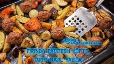 Fırında Patatesli Köfte Tarifi