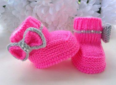 Bebek Patik Modelleri Yapılışı