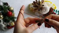 Amigurumi Noel Geyiği Yapılışı