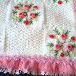 Kanaviçe İşlemeli Bebek Battaniyesi Yapımı