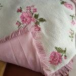 Kanaviçe İşlemesi Bebek Battaniye Yapımı