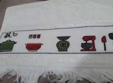 Kanaviçe Mutfak Havlusu Yapımı