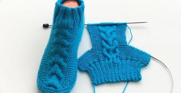 Bayan Çorap Patik Yapımı