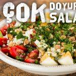 Çok Doyurucu Salata Diyet Tarifleri