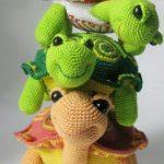 Amigurumi Kaplumbağa Yapılışı