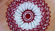Karanfil Çiçekli Uzun Lif