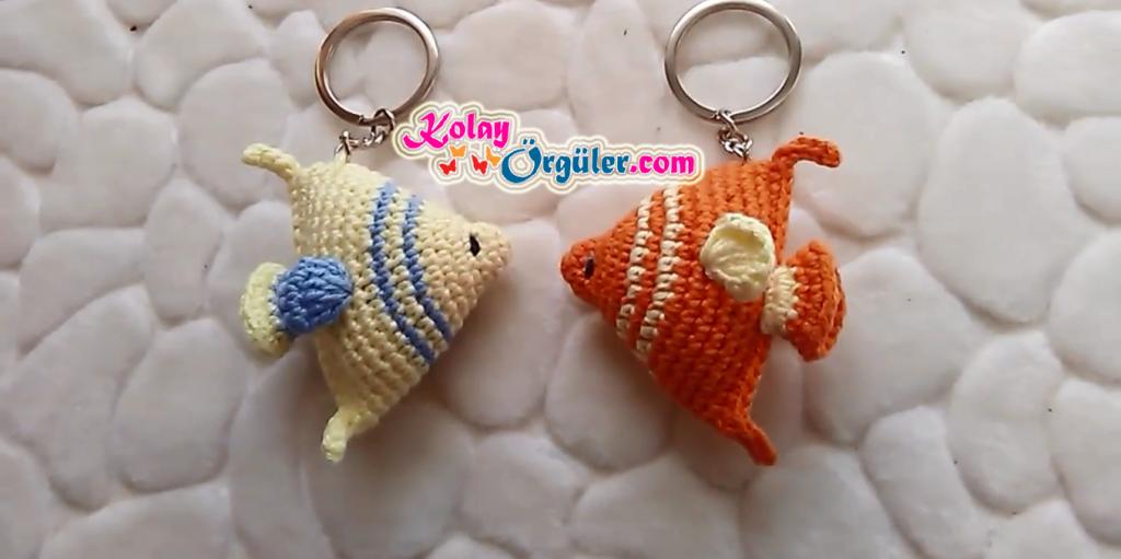Amigurumi Anahtarlık Balık Yapımı