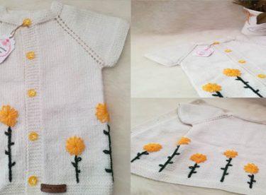 Sonbaharın Gelişiyle Bebek Yelek Modelleri