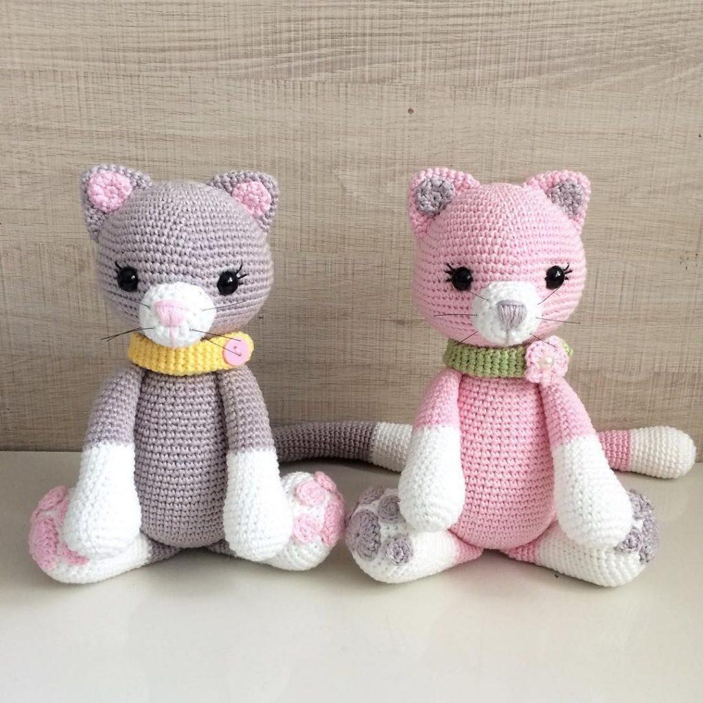 Amigurumi Kedi Yapımı