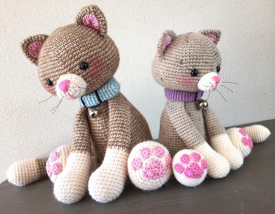 Amigurumi Minik Kedi Oyuncak Yapılışı