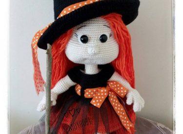 Sevimli Amigurumi Cadı Tarifi