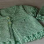 Şapkalı Kız Bebeği Yeleği