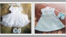 Yeni Örgü Elbise Modeli