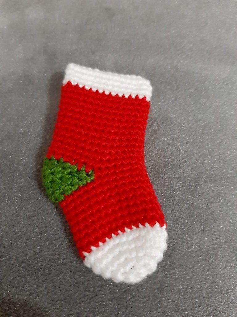 Amigurumi Noel Süs Yılbaşı Çorabı Yapımı