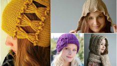 El Emeği Bayan Şapka Modelleri