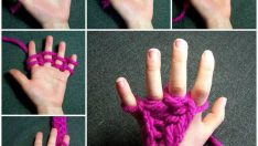 Parmak Örgü Nasıl Yapılır?