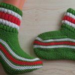 Renk Cümbüşü Noel Çorap Nasıl Örülür