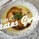 Evde Kolay Kremalı Patates Çorbası Tarifi