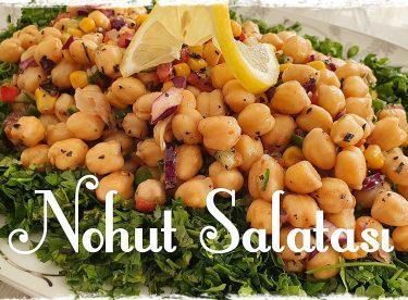 Evde Nohut Salatası Tarifi
