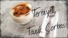Terbiyeli Tavuk Çorbası Tarifi