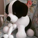 Amigurumi Benekli Köpek Tarifi Ve Yapılışı