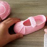 Kolay Babet Bebek Patik Yapılışı