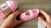 Hazır Tabanlı Kolay Babet Bebek Patik Yapılışı