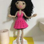 Amigurumi Esmer Barbie Bebek Yapılışı