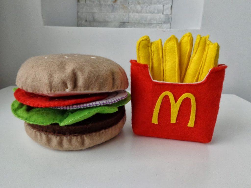 Amigurumi Hamburger Yapılışı 2022