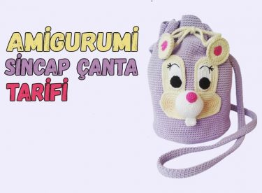 Amigurumi Sincap Çanta Tarifi Ve Yapılışı