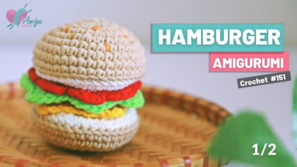 Hamburger Amigurumi Modeli