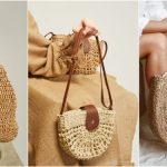 Hasır Şık Çanta Modelleri